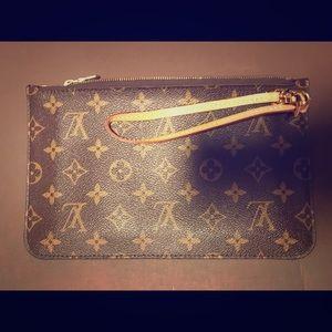 💯 Authentic Louis Vuitton Pouchette Pouch Mono
